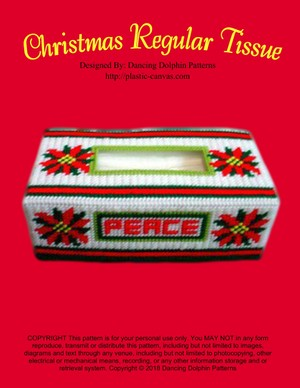150 - Christmas Regular Tissue