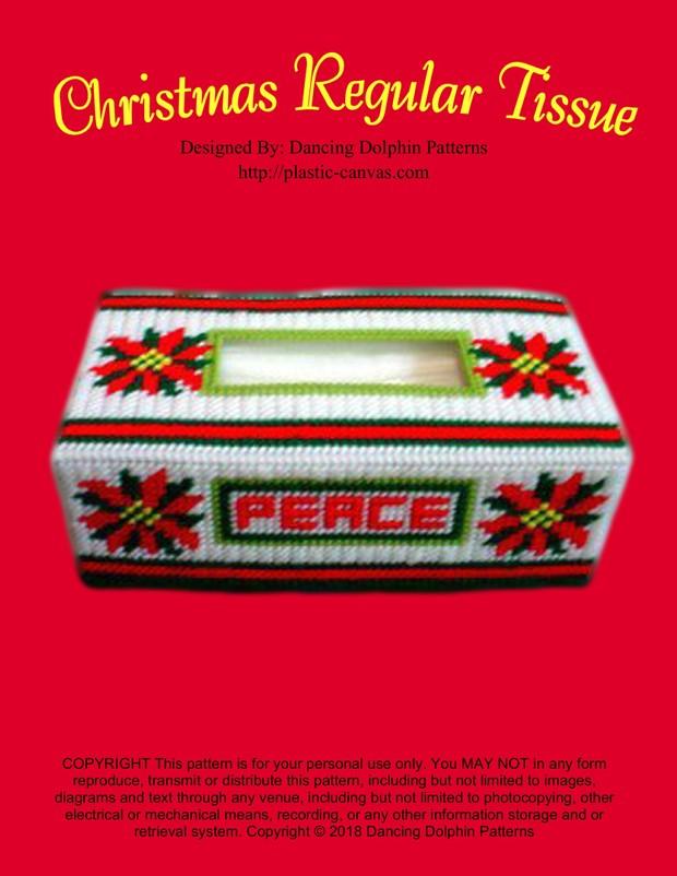 150 - Christmas Regular Tissue