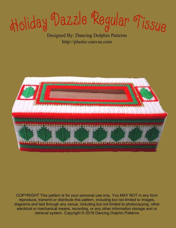 377 - Holiday Dazzle Regular Tissue