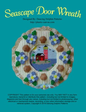 093 - Seascape Door Wreath