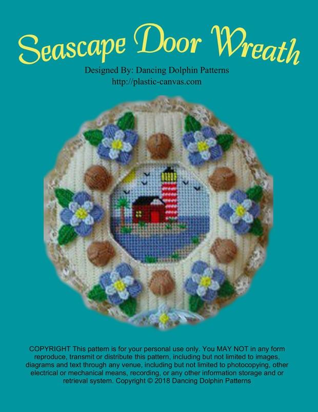 093 - Seascape Door Wreath