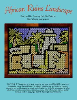503 - African Ruins Landscape