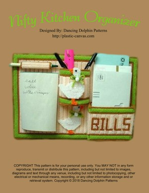 078 - Nifty Kitchen Organizer