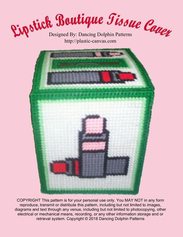 501 - Lipstick Boutique Tissue Cover
