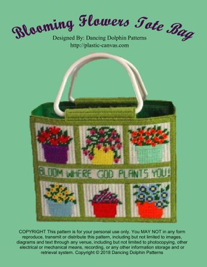 048 - Blooming Flowers Tote Bag