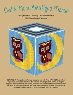 560 - Owl & Moon Boutique Tissue