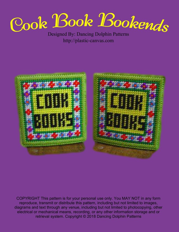 248 - Cook Book Bookends