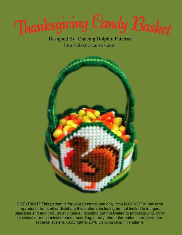 154 - Thanksgiving Candy Basket