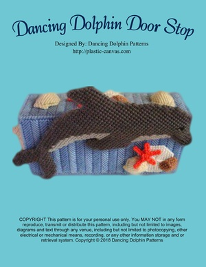 001 - Dancing Dolphin Door Stop