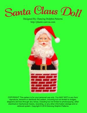 370 - Santa Claus Doll