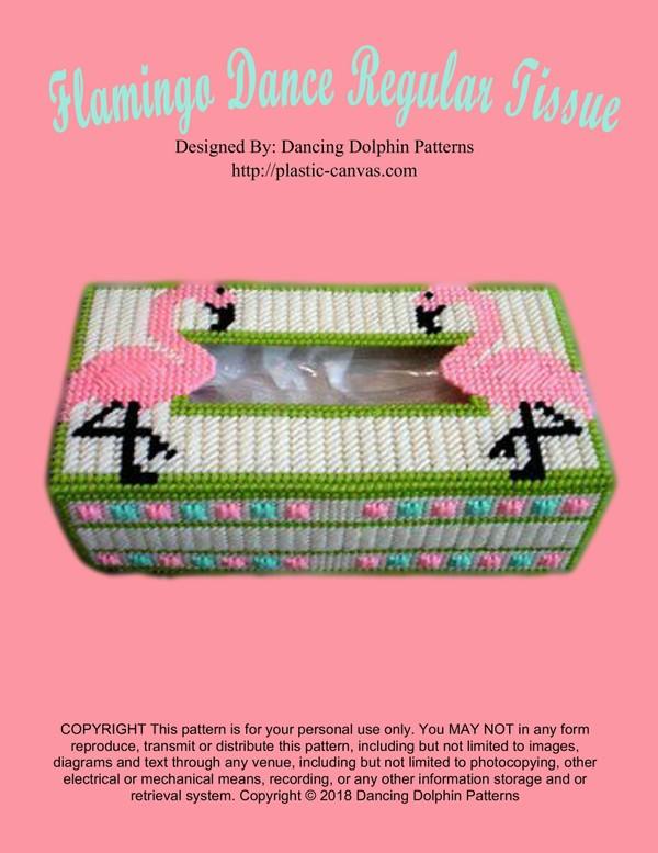 144 - Flamingo Dance Regular Tissue