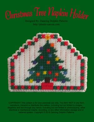 390 - Christmas Tree Napkin Holder