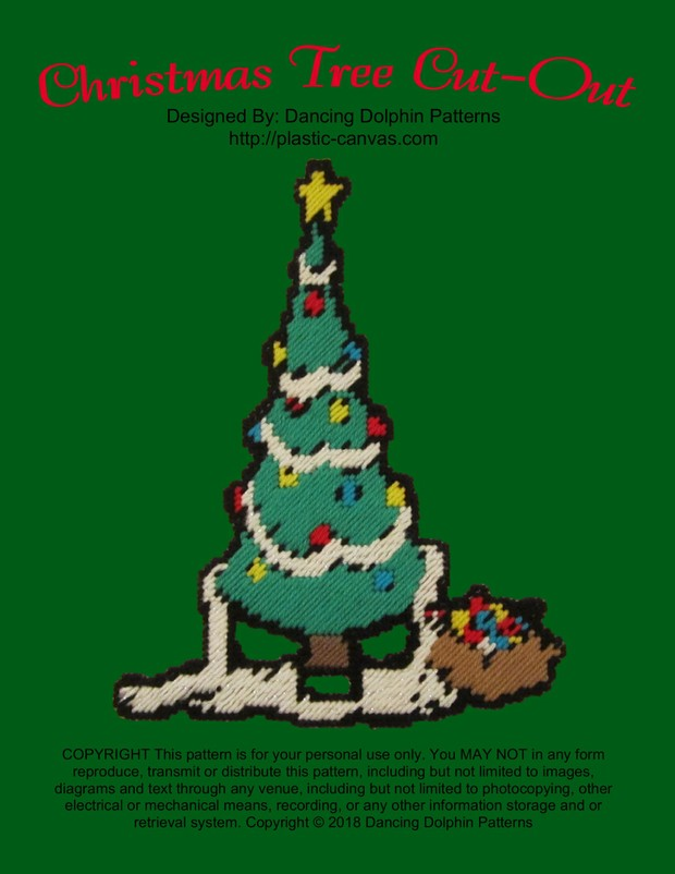 525 - Christmas Tree Cut-Out