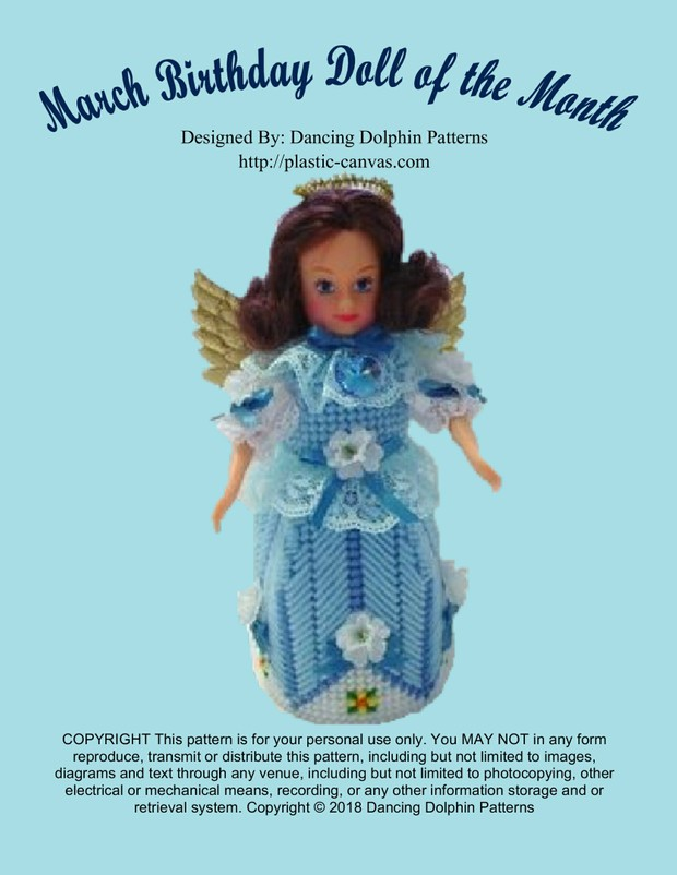 399 - March Birthday Doll of the Month
