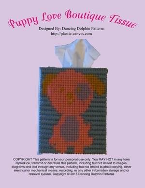 540 - Puppy Love Boutique Tissue