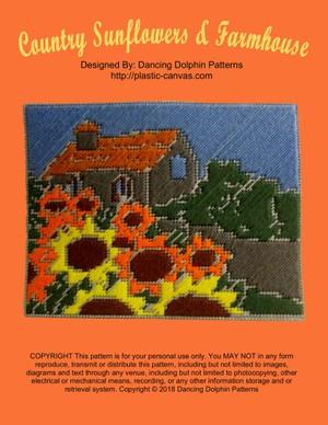 526 - Country Sunflowers & Farmhouse
