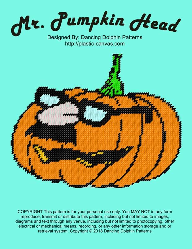 625 - Mr. Pumpkin Head