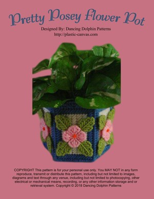 215 - Pretty Posey Flower Pot
