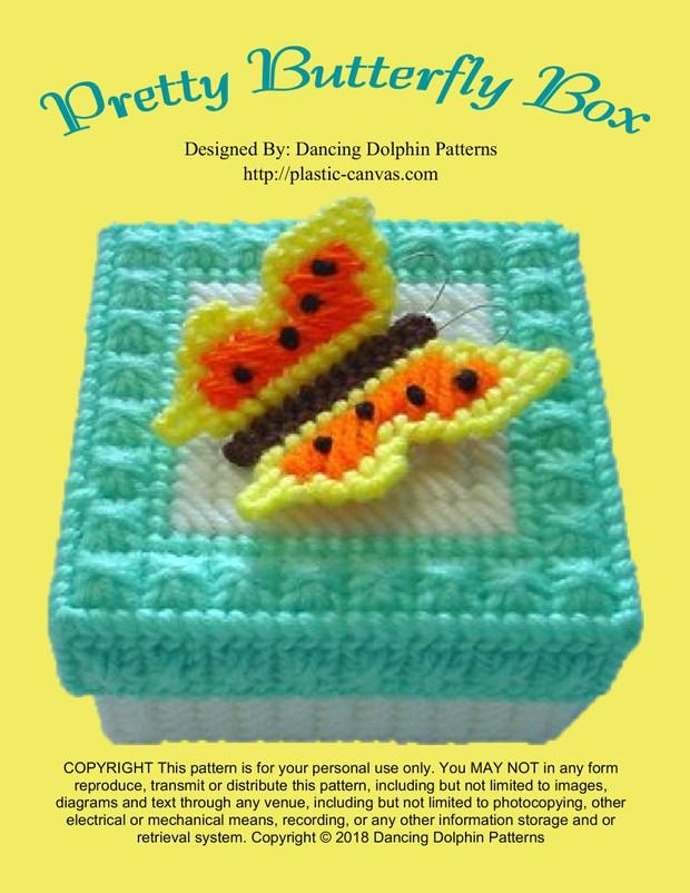 438 - Pretty Butterfly Box