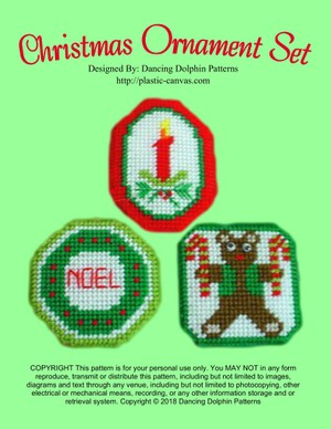 256 - Christmas Ornament Set