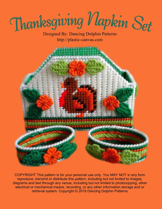 089 - Thanksgiving Napkin Set