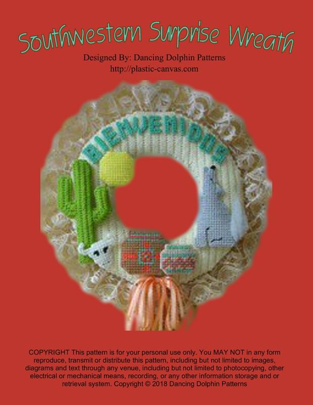 007 - Southwestern Surprise Wreath
