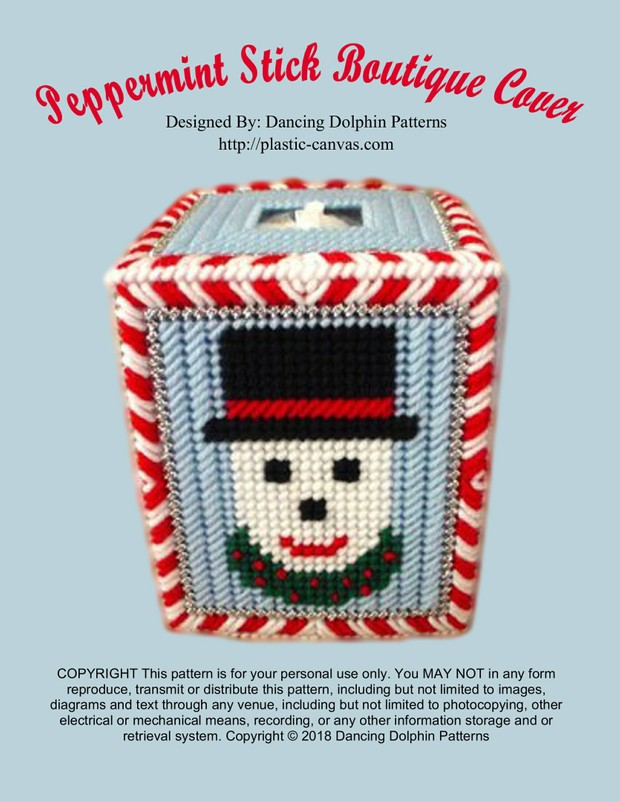 463 - Peppermint Stick Boutique Cover