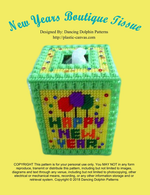 425 - New Years Boutique Tissue