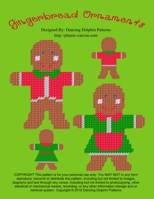 227 - Gingerbread Ornaments