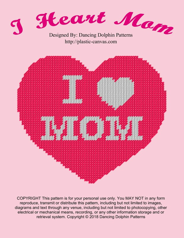 554 - I Heart Mom