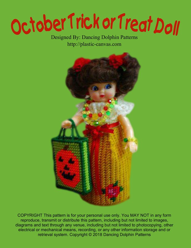 155 - October Trick or Treat Doll