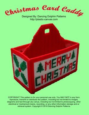 276 - Christmas Card Caddy