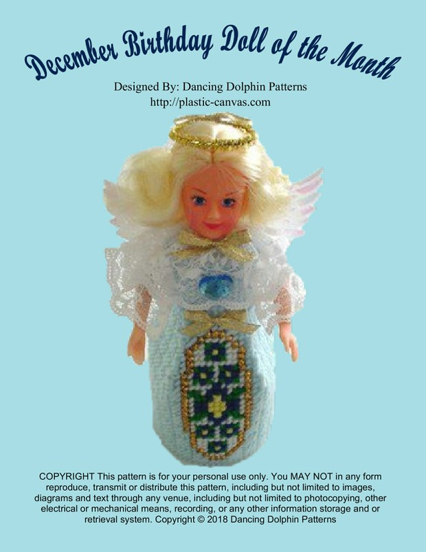 396 - December Birthday Doll of the Month