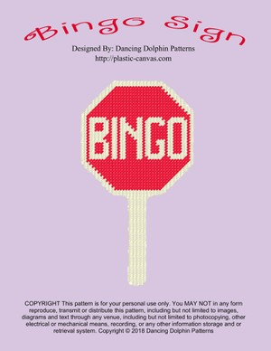 206 - Bingo Sign