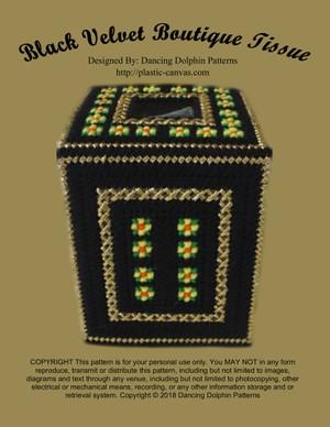 453 - Black Velvet Boutique Tissue