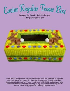 287 - Easter Regular Tissue Box