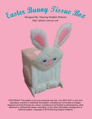 039 - Easter Bunny Tissue Box