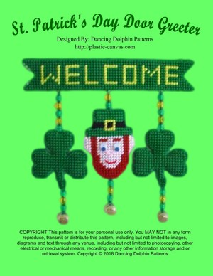 385 - St. Patricks Day Door Greeter