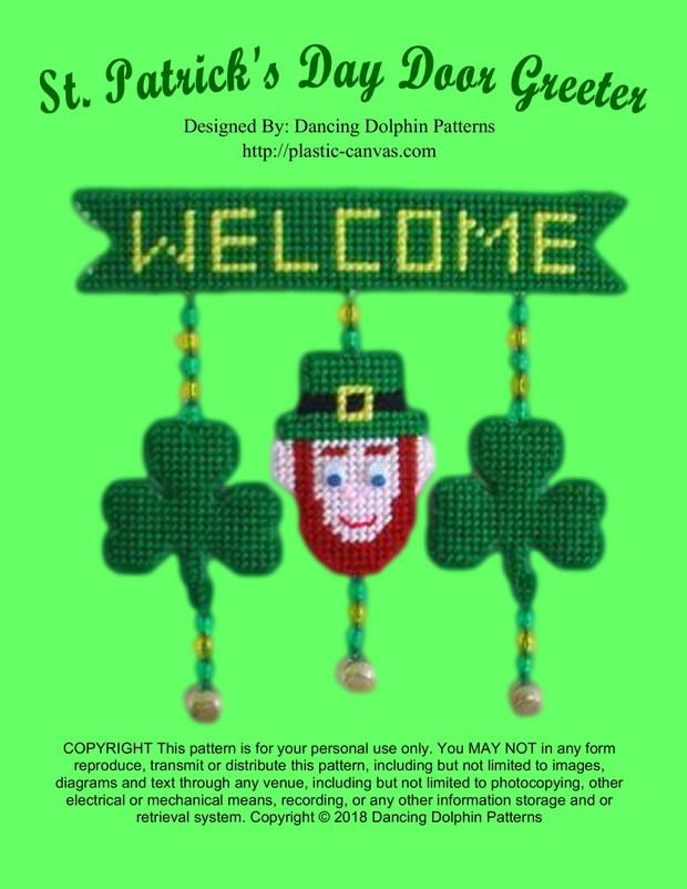 385 - St. Patricks Day Door Greeter
