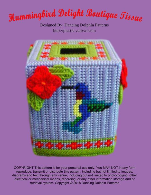 023 - Hummingbird Delight Boutique Tissue