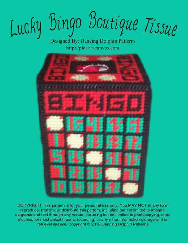 500 - Lucky Bingo Boutique Tissue