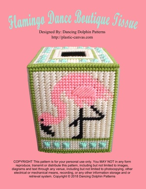 331 - Flamingo Dance Boutique Tissue