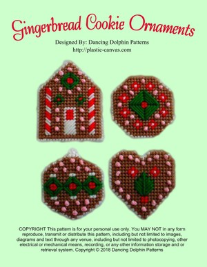 407 - Gingerbread Cookie Ornaments