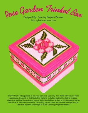 109 - Rose Garden Trinket Box