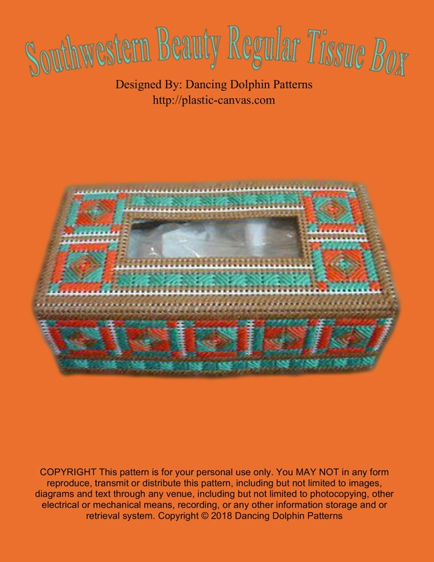 009 - Southwestern Beauty Regular Tissue Box