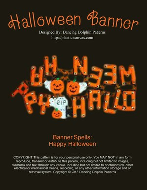 028 - Halloween Banner