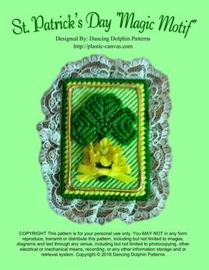 313 - St. Patrick's Day Magic Motif