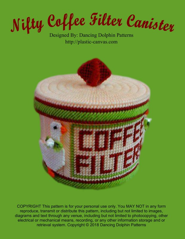 242 - Nifty Coffee Filter Canister