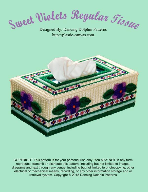 164 - Sweet Violets Regular Tissue