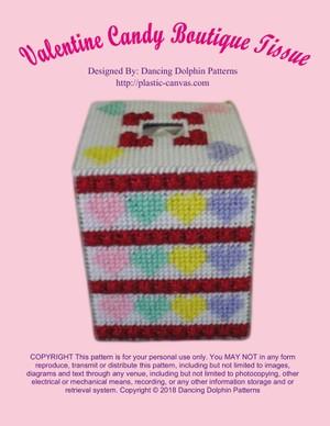 471 - Valentine Candy Boutique Tissue
